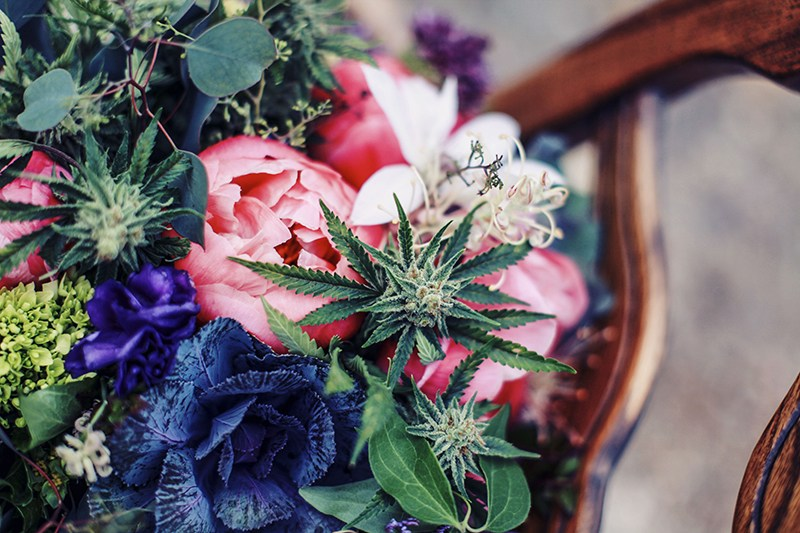 Doesn't have to be Valentine's Day… Pretty Green Bud says surprise her with a Marijuana Bouquet